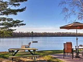 New Listing! Remarkable 2BR Lakefront Pine River Cabin w/Wifi, Fire Pit, Amazing Views & Very Private Location - Close Proximity to Great Fishing, Paul Bunyan Bike Trail & Other Major Attractions! - Pine River vacation rentals