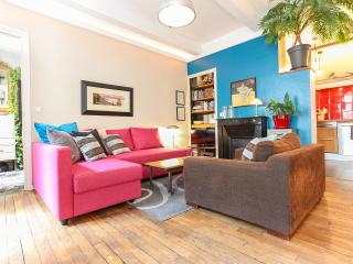 Spacious Retro Chic Vacation Rental in Central Paris - Paris vacation rentals