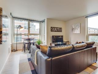 South Lake Union dog-friendly condo w/ rooftop deck & fitness center! - Seattle vacation rentals
