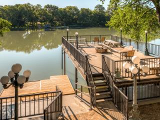 REDUCED AUGUST AND SEPTEMBER RATES! 'Guadalupe River Lodge' – Spacious 7BR Waterfront Home w/Fantastic Outdoor Space & Additional Sleeping Cottage – Phenomenal River Location w/Easy Access to Outdoor Recreation & Renowned Attractions! - Seguin vacation rentals
