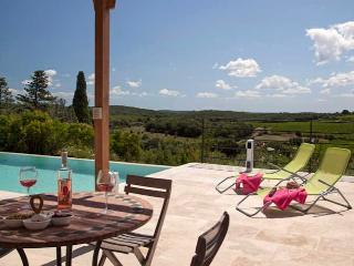 Villa with infinity pool and views South France, Faugeres (Ref: 828) - Béziers vacation rentals