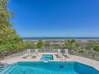 Oceanfront 5 Bedroom Home with Pool, Spa & Ping Pong Table - Hilton Head vacation rentals