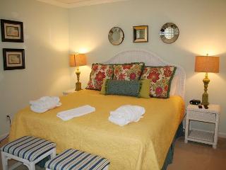 2 Bedroom, 2 Bath ground floor villa with Golf Course views in Evian Complex - Hilton Head vacation rentals