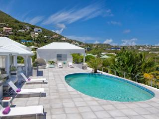Alizée - Perfect for Large Family Groups, Walk to the Beach, Pool & Jacuzzi, Ocean Views - Guana Bay vacation rentals