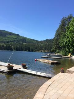 Beautiful Twin Lakes Idaho, Waterfront Cabin - Rathdrum vacation rentals