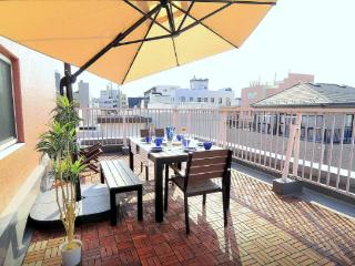 Amazing SKYTREE view Terrace Apartment+Free WIFI花火 - Sumida vacation rentals