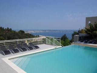 Magnificent villa w/ open sea view - Vallauris vacation rentals