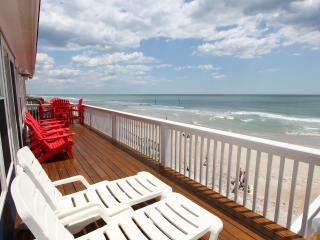 Direct Ocean Front Home - Great Beach Views! - Surf City vacation rentals
