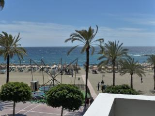 First line beach, side sea view, downtown - Marbella vacation rentals