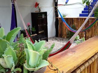 La Casa del Angel - Room 3 - two double beds A/C - Valladolid vacation rentals