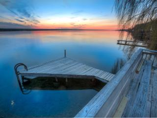 Pura Vida Cottage: Updated! On the water! Fantastic sunsets! - Ithaca vacation rentals