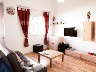 Living room - A specious modern clean apartment in Valencia cent - Valencia - rentals