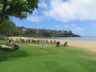 Pali Kai Studio B, Cozy with Rustic Charm, Ocean Bluff, AC, Marriott Resort - Lihue vacation rentals