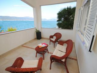 Family apartment 20 meters from the sea - Arbanija vacation rentals