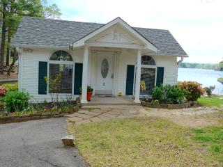 Beautiful Cottage With Deck Extending Over Water - Hot Springs vacation rentals