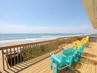 Oceanfront Decks, Hot Tub, New Renovations - Holly Ridge vacation rentals