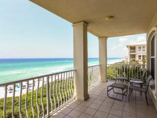 Sunset Villa- Gulf/Beach Front Condo! Steps from Rosemary, & Tons of Family Fun! - Seacrest Beach vacation rentals