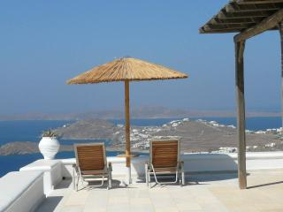 Amazing villa with perfect views - Psarou vacation rentals