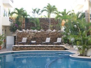 Playa Del Carmen Poolside Two Bedroom with Balcony - Playa del Carmen vacation rentals