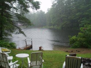 Lakefront house with smaller cabin available - Lake Luzerne vacation rentals