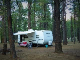 Hassle-free summer camping! 26' camper sleeps 4 - Williams vacation rentals