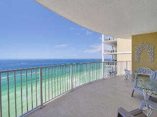 ~Summer Sale~Twin Palms 1801-2BR/Sleeps 6~Beachfront~Pool~Hot Tub~BBQ~Gym - Panama City Beach vacation rentals