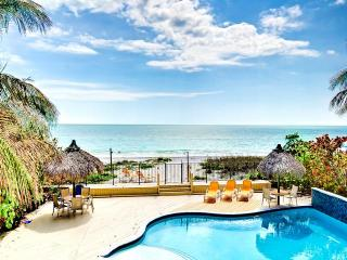 Sugar Sands Beachfront Retreat On the Beach 2 Bedroom 1 Bath Villa with Brand New Pool - Madeira Beach vacation rentals