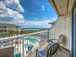 319 Breakers, Fully Remodeled in 2016! Beautiful Oceanfront, Pool, Beach - Hilton Head vacation rentals