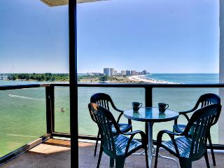 440 West 1108S 2 Bedroom 2 Bath Condo with Beautiful Water View in the 440 West Building - Clearwater Beach vacation rentals