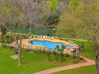 RRC 203 2/2 located right on the Comal River! Walk to downtown New Braunfels! - New Braunfels vacation rentals