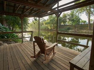 4 Bedroom 3 Bath Riverfront home! Best house on the Guadalupe! - New Braunfels vacation rentals