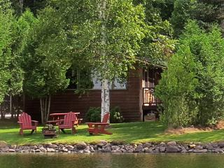Charming Waterfront Adirondack Cabin - Bear - Saranac Lake vacation rentals
