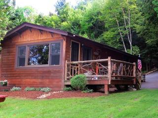Charming Waterfront Adirondack Cabin - Hideaway - Saranac Lake vacation rentals
