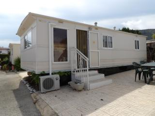 Nice Caravan/mobile home with Shared Outdoor Pool and Television - Albir vacation rentals