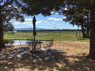 Lovely pasture setting with a view of the Cascades and your own pond - - Bend vacation rentals