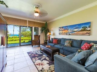 Kaha Lani Resort #123 Oceanfront, Steps to the Beach, Great Location! - Lihue vacation rentals