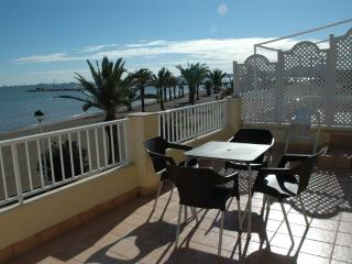 Front line beach PENTHOUSE with STUNNING views - Los Urrutias vacation rentals