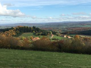 Stunning views , peace and beautiful countryside - Cluny vacation rentals