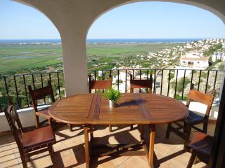 Villa Karma with stunning 180° see & mountain view - Pego vacation rentals