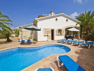 Comfortable Villa with Television and Private Outdoor Pool - Sa Coma vacation rentals