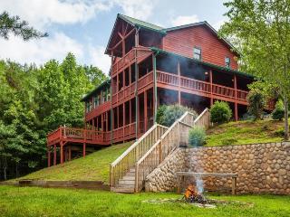 Carters Lake Lodge - Beautiful Custom Log Home - Ellijay vacation rentals