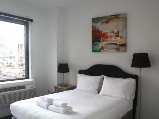 Furnished 1-Bedroom Apartment at 1st St & Provost St Jersey City - Jersey City vacation rentals