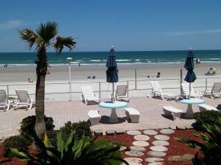 Ocean Front on the No Drive Beach First Floor - Daytona Beach vacation rentals