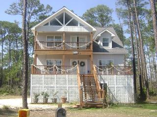 """Pelican Post"" near the Gulf of Mexico 