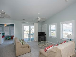Heels on the Beach - Ocean views and lots of decks - North Topsail Beach vacation rentals