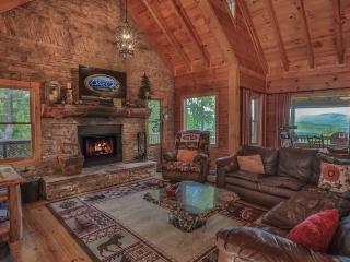 North Georgia Mountain View Cabin With Sauna - Above It All - Ellijay vacation rentals