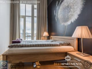 2 BDRM Tallinn apartment with amazing view & sauna - Tallinn vacation rentals