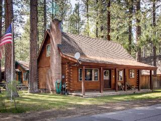 Log cabin w/ private hot tub & rustic charm! Walk to beach! - South Lake Tahoe vacation rentals