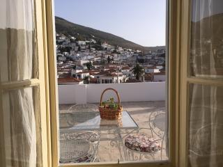 Bright 2 bedroom Hydra Town Condo with A/C - Hydra Town vacation rentals