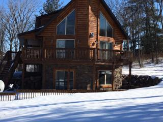 Beautiful custom designed log home - Baraboo vacation rentals